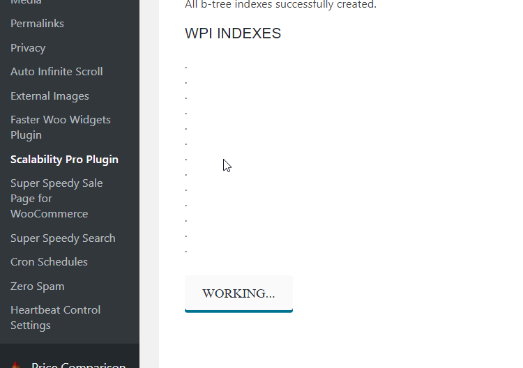 Minor update for Scalability Pro released - WP Intense