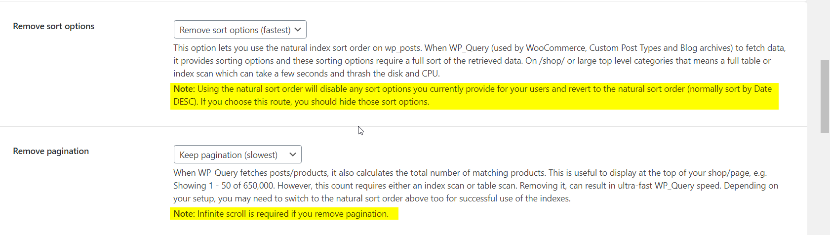 Why does pagination stop working when Scalability Pro is enabled?