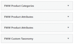 FWW Above - Woocommerce Products